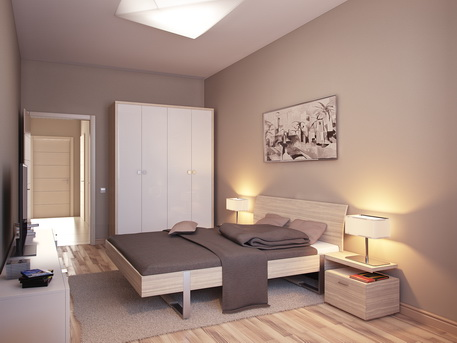 Будущая спальня Михаила Ситнянского