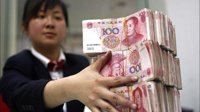 Выплата по моему пятому вкладу в МММ-2012. 90 000 китайских юаней. Фото сделано 14 февраля 2013 года