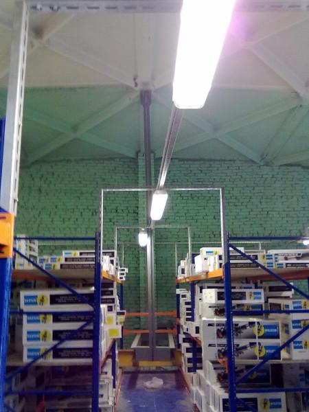 Крыша склада