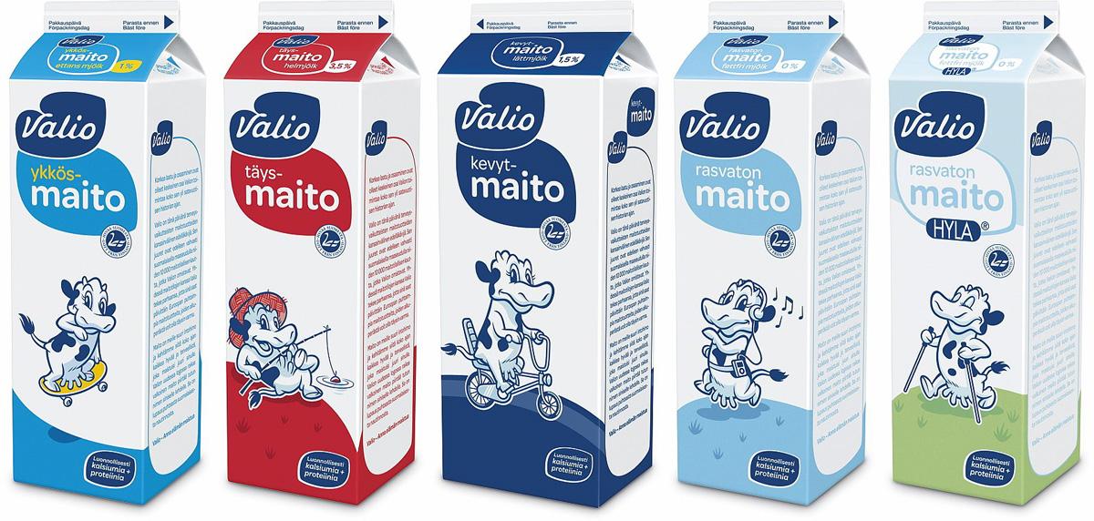 Valio. А ты какое молоко пьешь?