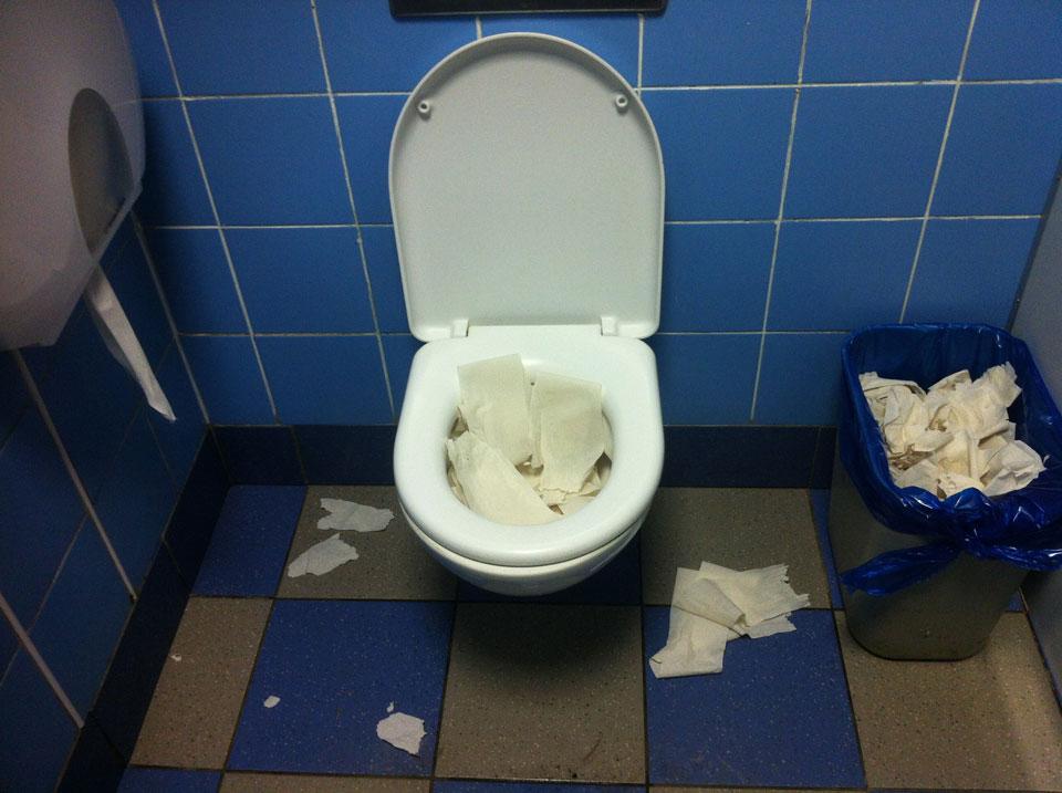 Спасительный туалет в Макдональдс