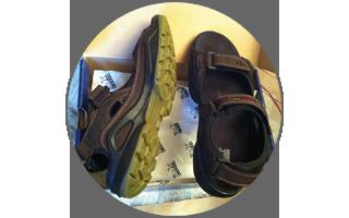 263-ий день. Купил сандалии, которые одену в аэропорт 29.01.2017