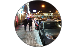 Петербургская вечерняя зимняя сказка