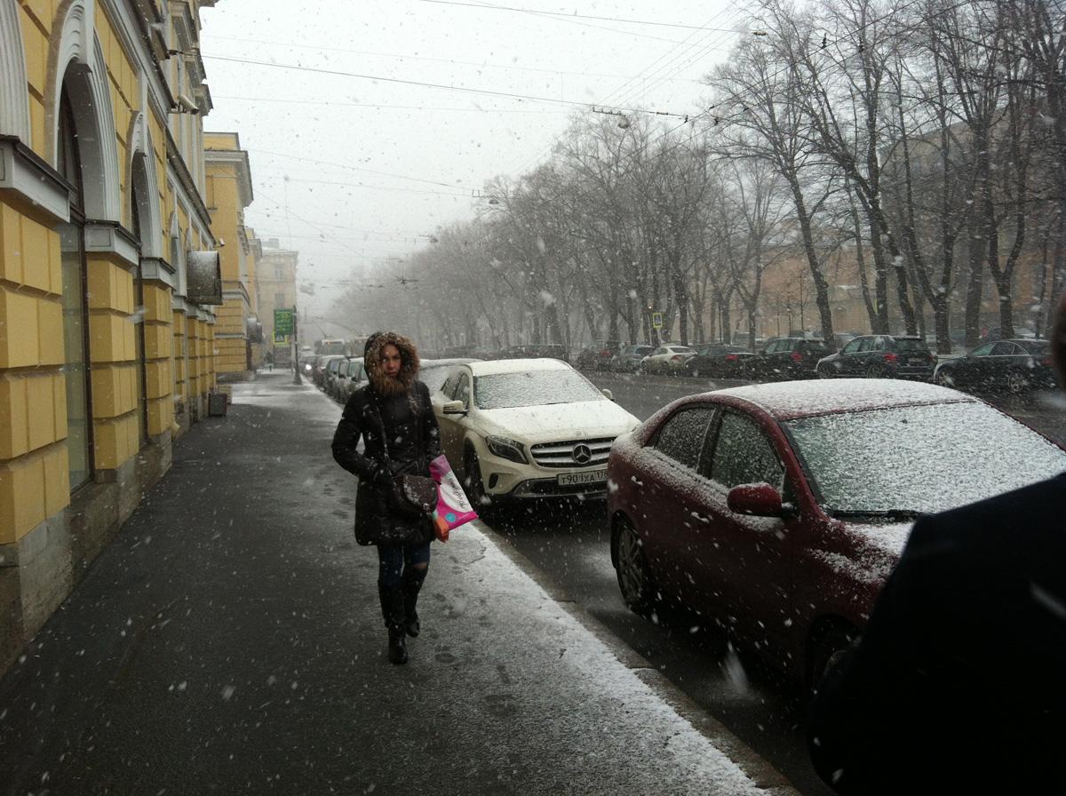 Петербург плачет по Жасмин, которая скоро навсегда уезжает =(