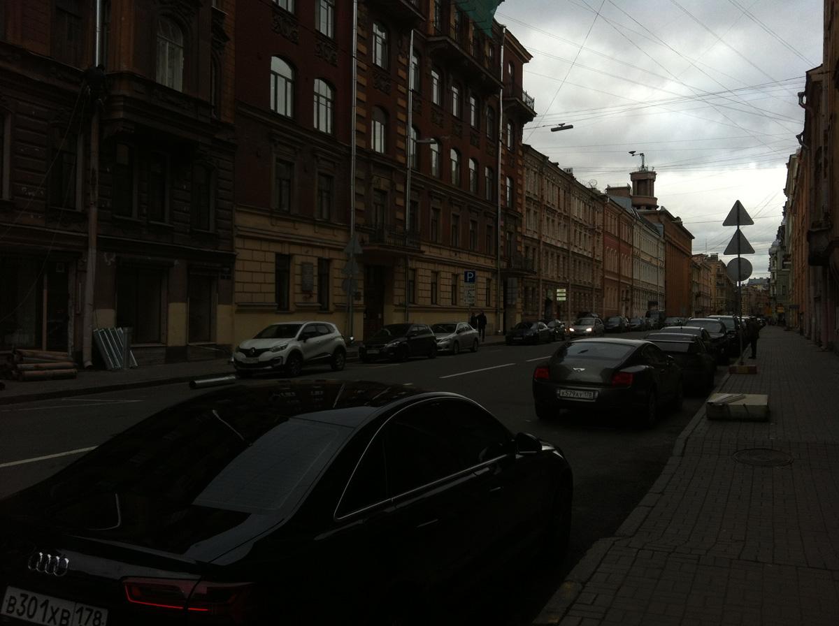 Басков переулок, недалеко от АмурСПА =)