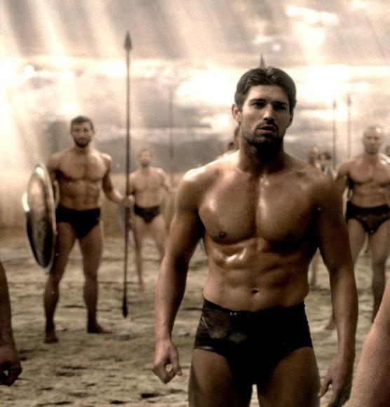 Конечно же, ими оказались спартанцы =)))