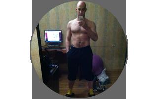 Только начал ходить на фитнес, а уже начинаются какие-то видимые изменения