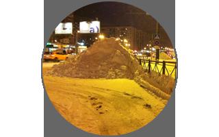 Как Петербург снегом засыпало =). Или про то, как я нахлобучил всех с Аней