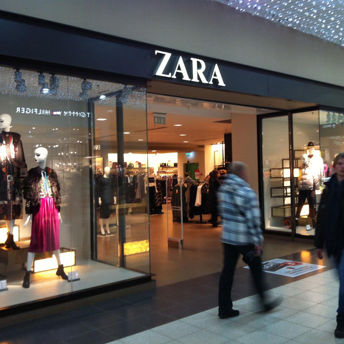 ZARA. Пожалуй, единственный хороший бутик для мужчин в МЕГЕ