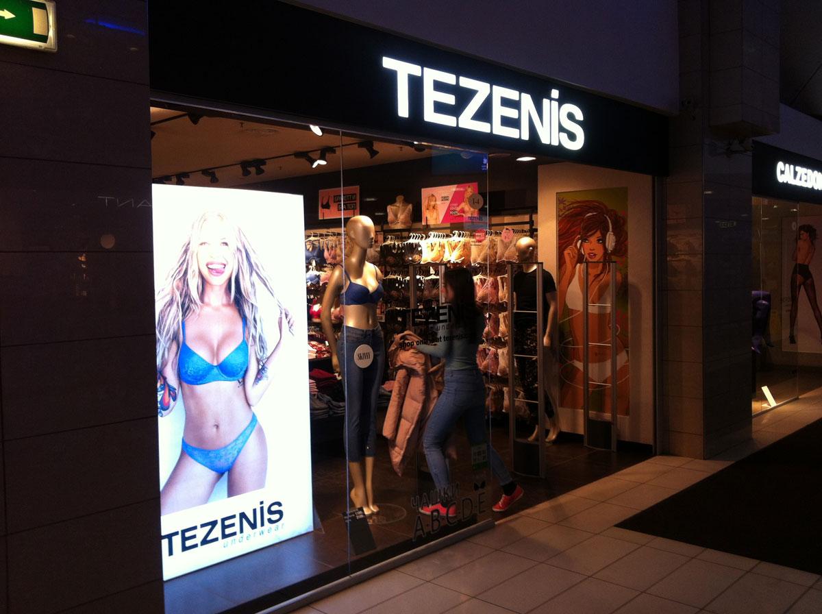 TEZENIS - магазин нижнего белья, покоривший мое сердце =)