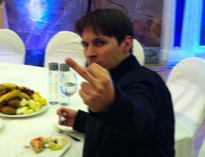 Павел Дуров посылает официальный ответ ОПГ «Россия»