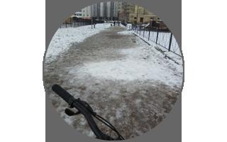 И костей не соберем =). Первый день работы на снеге, льду и минусе