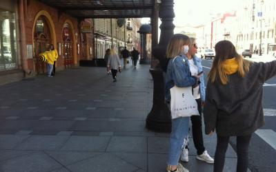 День 251. Наконец-то, свершилось =). Скотобаза «Лента», первый выезд с Марикой в центр и покупка новехонького Xiaomi Redmi 7A! =)